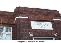 Greenfield Public Library (former site), Greenfield, Iowa