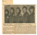 Dutch girls train with American WACs