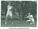 Softball players, The University of Iowa, 1930s