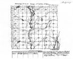 Iowa land survey map of t072n, r036w