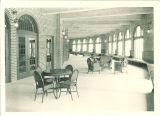 Sunporch lounge in the Iowa Memorial Union, the University of Iowa, January 1926