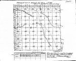 Iowa land survey map of t099n, r042w