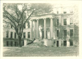Schaeffer Hall east portico and main entrance, the University of Iowa, October 1924