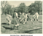 Field hockey, The University of Iowa, 1940s