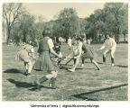 Field hockey, The University of Iowa, 1940s