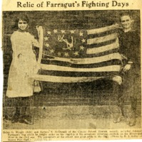 Relic of Farragut's Fighting Days