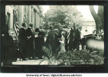 Commencement officials, The University of Iowa, June, 1920