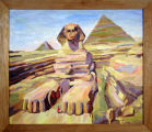 The Sphinx of Gizeh, Egypt