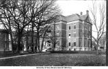 Old Science Hall, the old oaks, The University of Iowa, November 1902