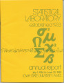 Statistical Laboratory Annual Report, July 1, 1984 to June 30, 1985