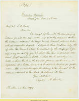 14.  Lincoln to Gen. Samuel R. Curtis on despatch of order for Gen. John C. Fremont