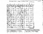 Iowa land survey map of t068n, r035w
