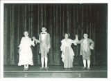 School children performing minuet, The University of Iowa, March 10, 1950