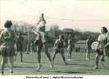 Volleyball on Mother's Day, The University of Iowa, April 30, 1938