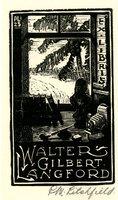 Walter Gilbert Langford Bookplate