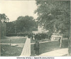 Commencement procession, The University of Iowa, 1910s?