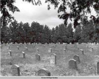 Cemetery, Amana, Iowa, ca. 1938
