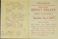 Orient, Iowa Relays - 1935