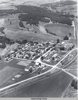 Aerial view East Amana, East Amana, Iowa, 08.00, 1937