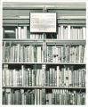 Anna Lalor Burdick alcove in the Shambaugh Heritage Library, the University of Iowa, 1970s?