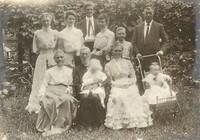 Group of 11 In Garden