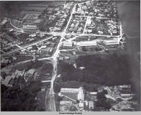 Aerial view Amana, Amana, Iowa, 09.03,1922