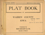 Plat book of Warren County, Iowa