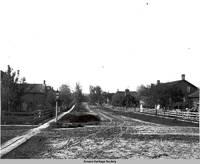 Street scene, Middle Amana, Iowa, ca. 1908