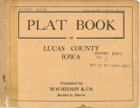 Plat book of Lucas County, Iowa