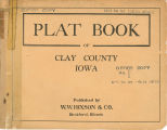 Plat book of Clay County, Iowa