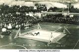 Wrestling meet between Iowa and Illinois, The University of Iowa, February 19, 1921