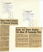 Hardin County Soil and Water Conservation District scrapbook, 1970-1971