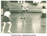 Badminton, The University of Iowa, 1938