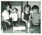 Science class, The University of Iowa elementary school, 1950s