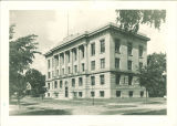 Southwest view of Gilmore Hall, the University of Iowa, June 22, 1921