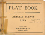 Plat book of Cherokee County, Iowa