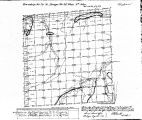 Iowa land survey map of t074n, r026w