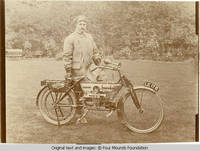 Geroge Burden in riding outfit