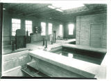 Swimming pool mechanical and maintenance room at the Field House, the University of Iowa, 1930s