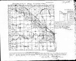 Iowa land survey map of t072n, r014w