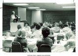 Mary Louise Smith speaking to group, Nashville, Tenn., 1974