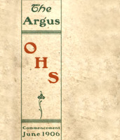 Ottumwa High School 1906 Yearbook