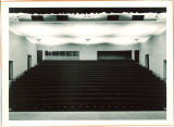 View of an auditorium from the stage, The University of Iowa, 1930s