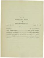 0115 Des Moines Women's Club Minutes 1930-1932