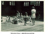 Gym class, The University of Iowa, 1930s