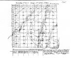 Iowa land survey map of t069n, r038w