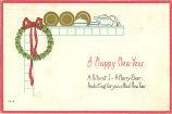 """A happy New Year, a futurist I, a merry seer,"" 1912"