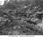 Bethany Falls Milestone, Clarke County, Iowa, late 1890s or early 1900s