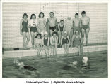 Swimmers, The University of Iowa, 1944