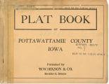 Plat book of Pottawattamie County, Iowa
